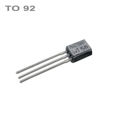 Tranzistor BC547B NPN 45V,0.1A,0.5W,100MHz TO92