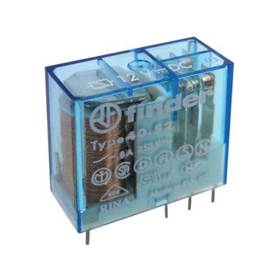 Relé 12V 8A/250VAC 2x přep. RELEF4052-12