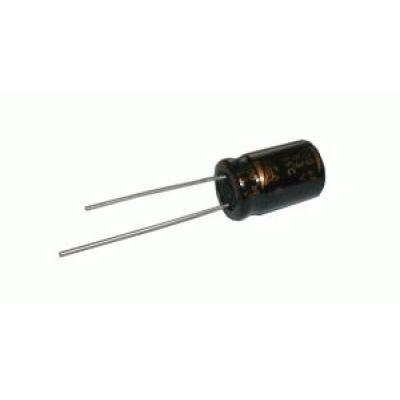 Kondenzátor elektrolytický 10M/63V 5x11-2.5 rad.C