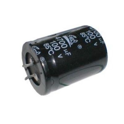 Kondenzátor elektrolytický 4G7/100V 35x50mm SNAP-IN 105 °C