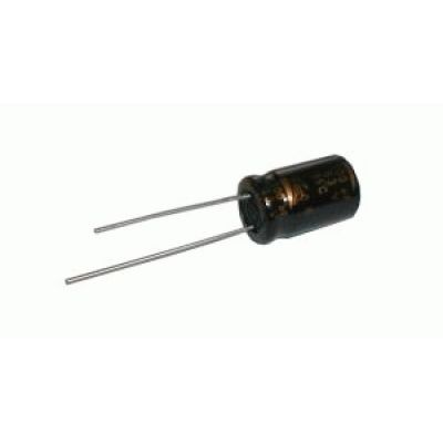 Kondenzátor elektrolytický NP 2M2/100V 6x12-3 Jam.NK
