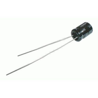 Kondenzátor elektrolytický NP 3M3/100V 8x13-3.5 Jam.NK