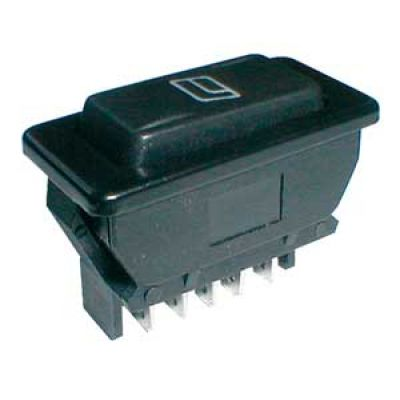 Prepínač kolískový auto 20A/12VDC presvetlený