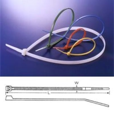 Pásek stahovací standard 160x2.5mm čierny *