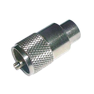 Konektor UHF (PL) kábel 10mm (RG8,213) samořez.-twist on