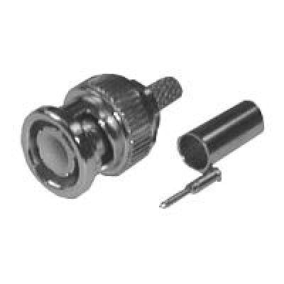 Konektor BNC crimp 6mm (RG59)