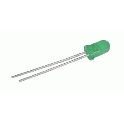 LED 5mm zelená difuzny
