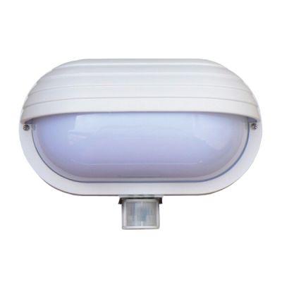 Svietidlo nástenné s čidlom pohybu Oval PIR-Micro STARLUX 60W