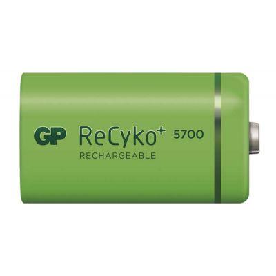 Batéria D (R20) nabíjacia 1,2V/5700mAh GP Recyko+