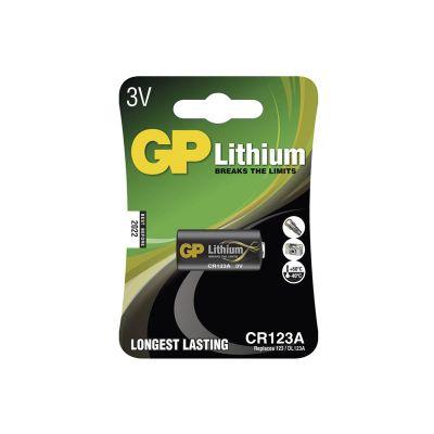 Batéria CR123A GP lítiová (foto)