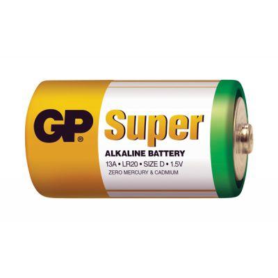 Batéria D (R20) alkalická GP Super Alkaline