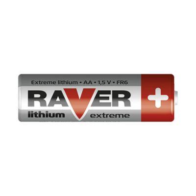 Batéria lítiová AA R6 1,5V RAVER
