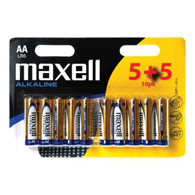 Batéria AA (R6) alkalická MAXELL (blistr 10ks)