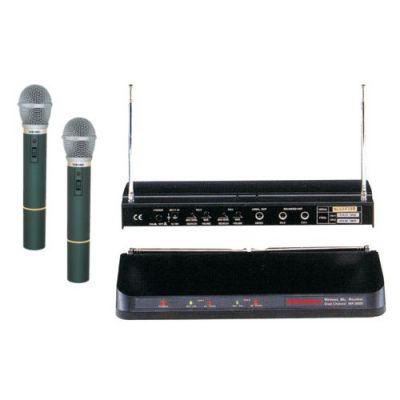 Mikrofón bezdrôtový SHOW WR202R+2xVXM286TS sada