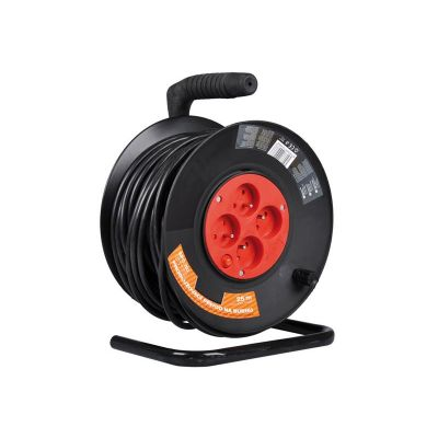 Predlžovací kábel na bubne - 4 zásuvky 25m SENCOR SPC 50