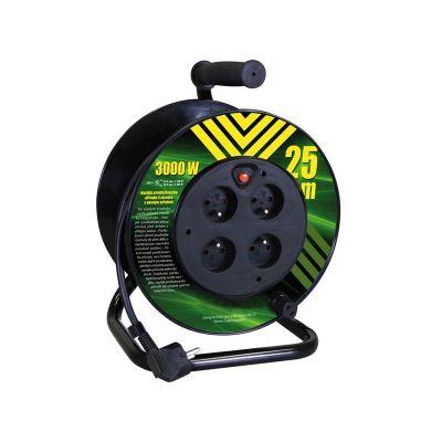 Predlžovací kábel na bubne - 4 zásuvky 25m EMOS P19425P