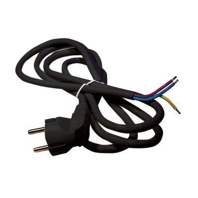 Flexo šnúra PVC 3x1,5mm 3m čierna