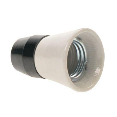 Objímka keramika/plast E27 SOLIGHT 5F54