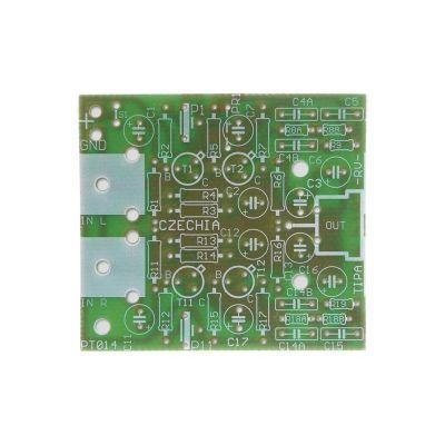 Plošný spoj PT014 Predzosilňovač pre gramofón s magnetodynamickou prenoskou