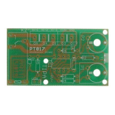 Plošný spoj PT017 Súmrakový spínač s relé 230V/8A