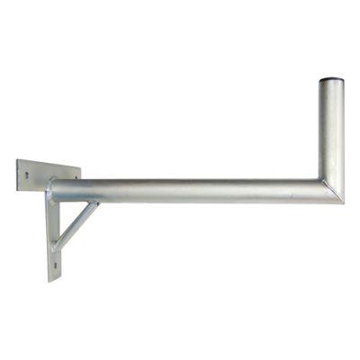 Anténny držiak 50 na stenu sa vzperou priemer 42mm výška 16cm žiar.