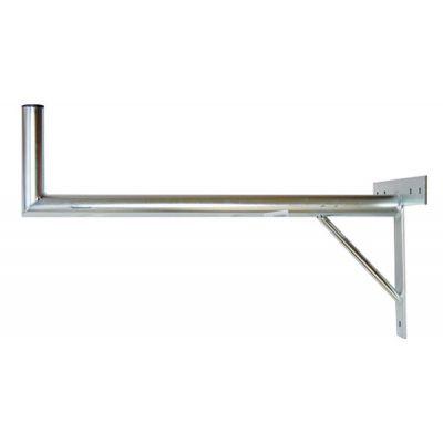 Anténny držiak 100 na stenu sa vzperou priemer 42mm výška 16cm žiar.