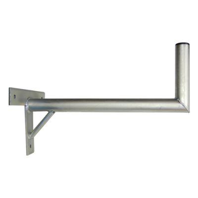 Anténny držiak 60 na stenu sa vzperou priemer 42mm výška 16cm