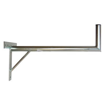 Anténny držiak 70 na stenu sa vzperou priemer 42mm výška 16cm žiar.
