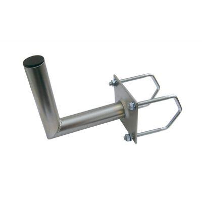 Anténny držiak 25 na balkón na hranaté zábradlia priemer 42mm
