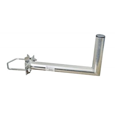 Anténny držiak 35 na stožiar s vinklom rozteč strmeňa 120mm priemer 42mm